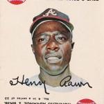 1968 Topps Game 4 Hank Aaron