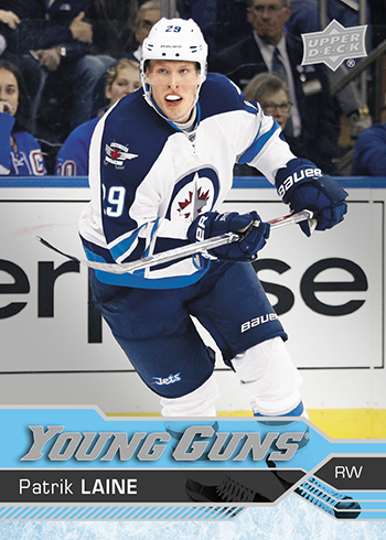 2016-17 Upper Deck Series 2 Hockey 451 Patrik Laine YG ab8559a8270d