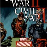 2016 Upper Deck Marvel Annual Civil War II