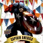 2016 Upper Deck Marvel Annual Happy Birthday Captain America