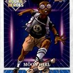2016 Upper Deck Marvel Annual Rookie Heroes Moon Girl