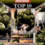 2016 Upper Deck Marvel Annual Top 10 Heroes