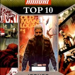 2016 Upper Deck Marvel Annual Top 10 Issues