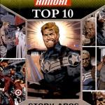 2016 Upper Deck Marvel Annual Top 10 Story Arcs