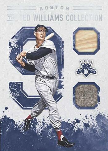 2017 Panini Diamond Kings Baseball Ted Williams Collection Beckett