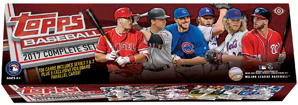 2017 Topps Baseball Complete Sets And Factory Set Details