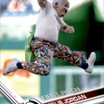 2017 Topps First Pitch Leslie Jordan