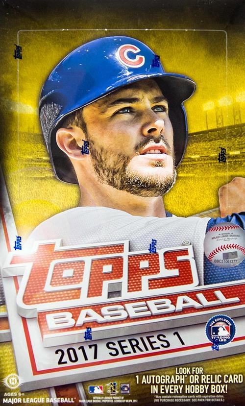 2017 Topps Series 1 Baseball Video Box Break
