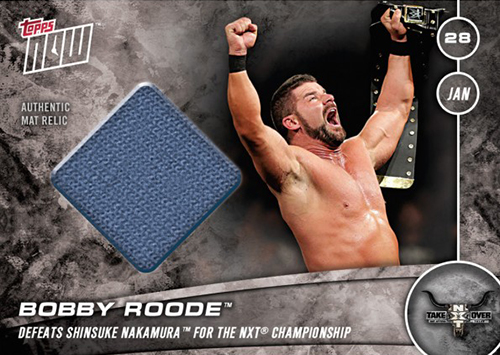 2017 Topps NOW WWE NXT TakeOver Orlando 7 Bobby Roode Print Run 74