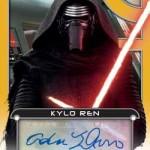 2017 Topps Star Wars Galactic Files Reborn Autographs Gold Adam Driver