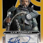 2017 Topps Star Wars Galactic Files Reborn Autographs Gold Forest Whitaker