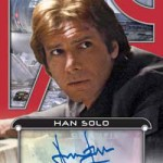 2017 Topps Star Wars Galactic Files Reborn Autographs Red Harrison Ford