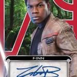 2017 Topps Star Wars Galactic Files Reborn Autographs Red John Boyega