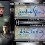 2017 Topps Star Wars Galactic Files Reborn Dual Autograph Piett Veers