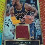 2016-17 Select Basketball Select Swatch Tie-Dye Prizm LeBron James
