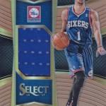 2016-17 Select Basketball Throwback Memorabilia Copper