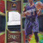 2016-17 Select Basketball Throwback Memorabilia Tie-Dye Prizm