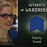 2017 Cryptozoic Arrow Season 3 Wardrobe Felicity Smoak