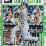 2017 Donruss Baseball Dominators Corey Seager