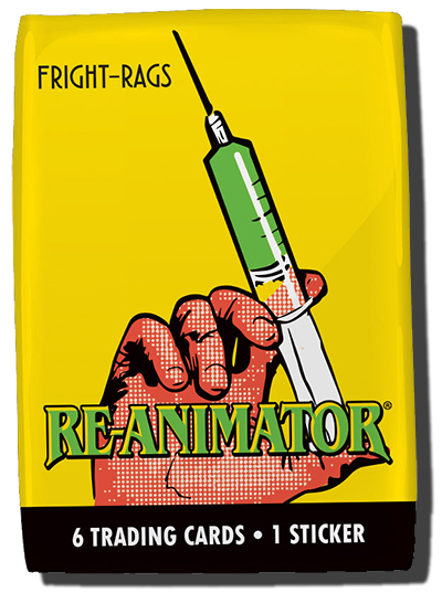 2017 Fright-Rags Re-Animator Trading Cards Checklist, Info