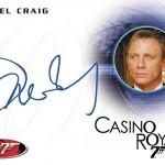 2017 Rittenhouse James Bond Archives Autographs Daniel Craig