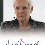 2017 Rittenhouse James Bond Archives Autographs Judi Dench