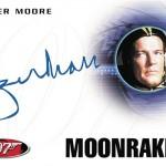 2017 Rittenhouse James Bond Archives Autographs Roger Moore