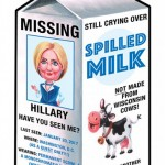 70 Missing Hillary Spilled Milk