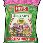 74 Her's Protesting Chips