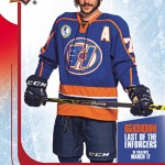 2017 UD Goon Last of the Enforcers Xavier Laflamme