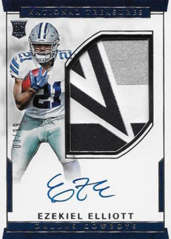 size 40 ddb86 1b0fd Ezekeil Elliott Rookie Cards Countdown and Guide