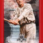 2017 Panini Diamond Kings  Baseball Framed Red George Kelly