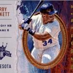 2017 Panini Diamond Kings  Baseball Memorable Moment Kirby Puckett