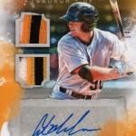 2017 Panini Diamond Kings  Baseball Signatures Dual Austin Meadows