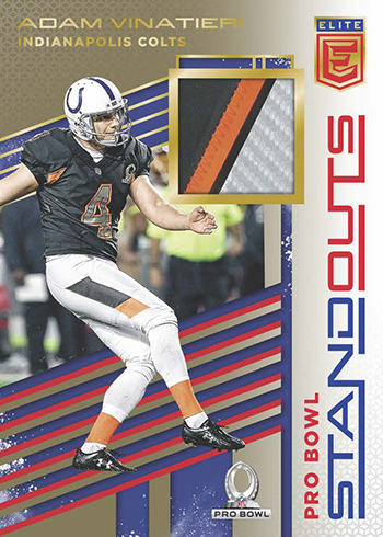 ad08484f0cb The set has 2017 rookies. Last year's rookies are being used in these  pictures to show what to expect as far as design goes. Tags2017 Panini Elite  Football