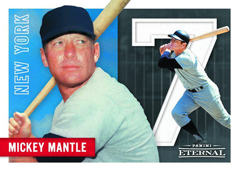 Mickey Mantle Baseball Cards Coming From Panini America