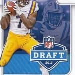 2017 Score Football NFL Draft Leonard Fournette
