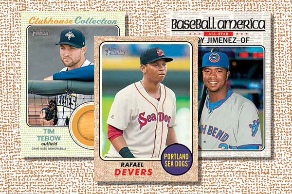 2017 Topps Heritage Minors Baseball Checklist Release Date