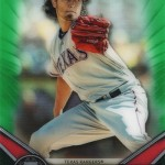 2017 Topps Tribute Green Yu Darvish