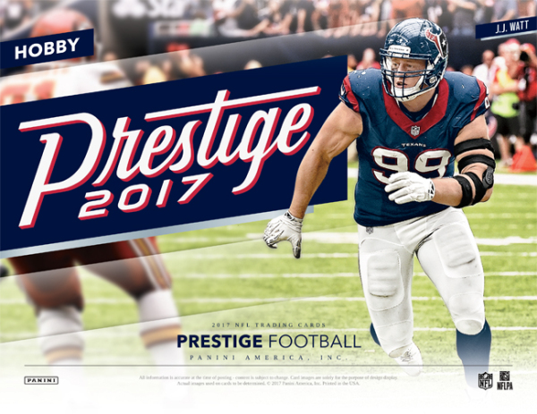 f866d3d14bd 2017 Panini Prestige Football Checklist, Release Date, Details