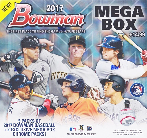 2017 Bowman Mega Boxes Are Back At Target And Nothing Has Changed