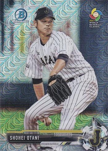 2017 Bowman Mega Box Shohei Otani