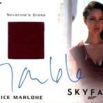 2017 James Bond Archives Autographed Relic Berenice Marlohe