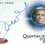 2017 James Bond Archives Autographs A155 Daniel Craig