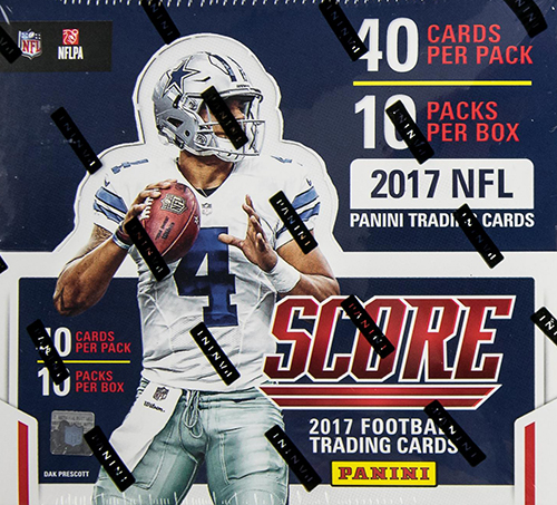2017 Score Football Video Box Break