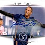 2017 Topps MLS Autograph Shelton