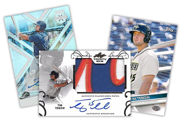 Tim Tebow Baseball Card Basics And Checklist