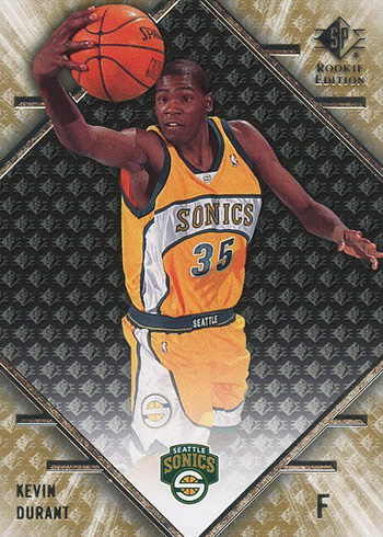 best website 69115 d59f1 Kevin Durant Rookie Card Rankings and Countdown