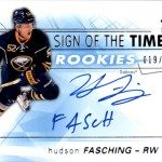 2016-17 SPx Hockey Sign of the Times Rookies Fasching