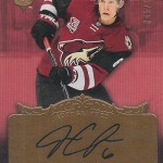 2016-17 Upper Deck Ultimate Collection Hockey 2006-07 Retro Autograph Jakob Chychrun